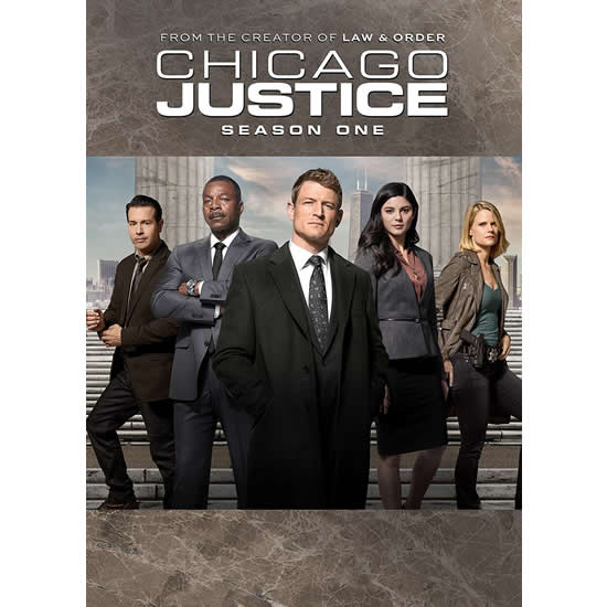 AU $32 BUY: Chicago Justice - Season 1 on DVD in Australia