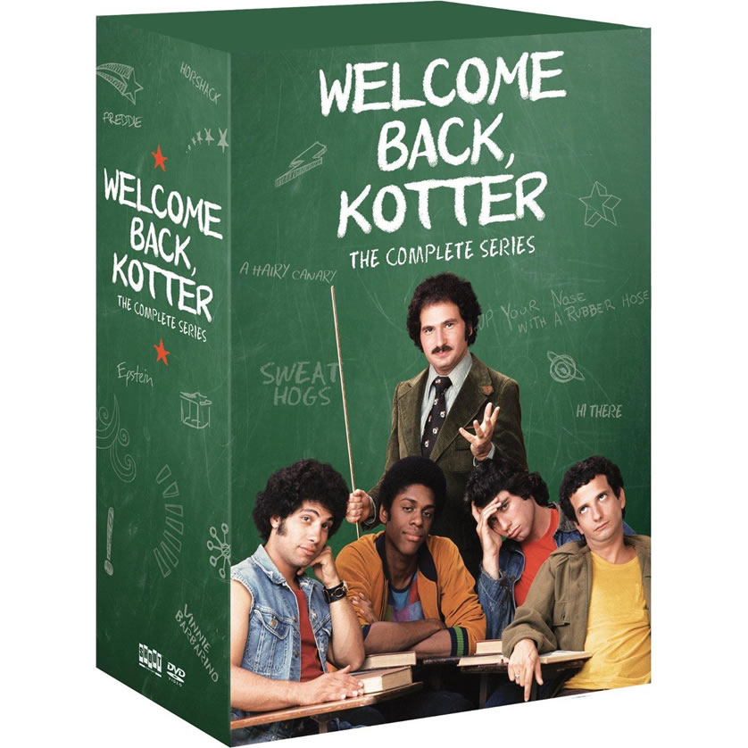 AU $87 BUY: Welcome Back, Kotter Complete Series on DVD in Australia