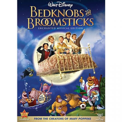 AU $20 BUY: Bedknobs And Broomsticks Special Edition Kids Movie on DVD in Australia