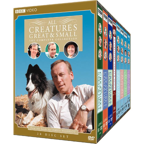 AU $128 BUY: All Creatures Great AND Small Complete Series on DVD in Australia