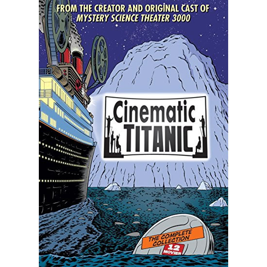 AU $35 BUY: Cinematic Titanic Complete Series on DVD in Australia