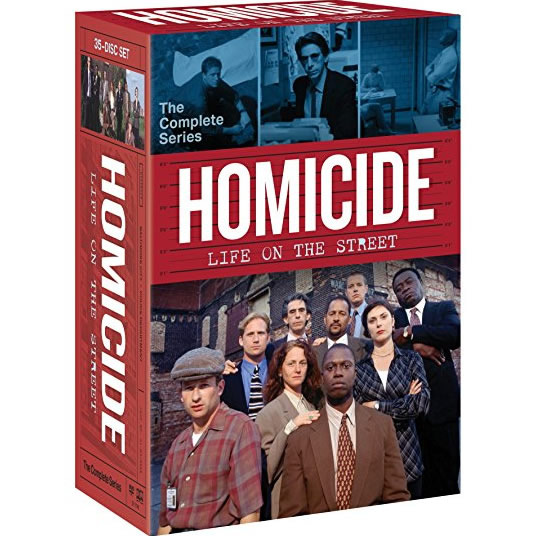 AU $115 BUY: Homicide - Life On The Street Complete Series on DVD in Australia