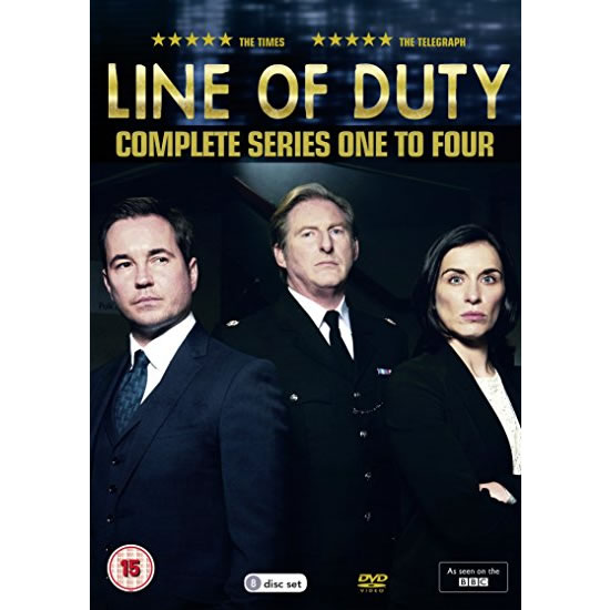 AU $52 BUY: Line of Duty Complete Series Seasons 1-4 on DVD in Australia