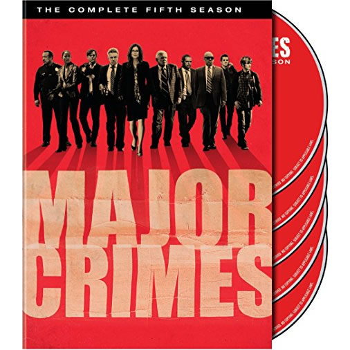 AU $32 BUY: Major Crimes - Season 5 on DVD in Australia