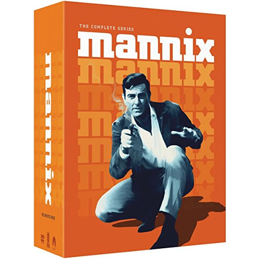 AU $130 BUY: Mannix Complete Series on DVD in Australia