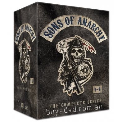 AU $95 BUY: Sons of Anarchy Complete Series on DVD in Australia
