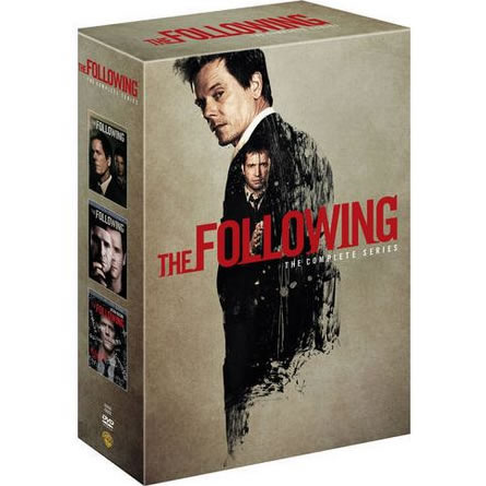 AU $52 BUY: The Following Complete Series Seasons 1-3 on DVD in Australia