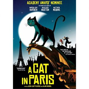 AU $24 BUY: A Cat in Paris Kids Movie on DVD in Australia