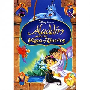 AU $24 BUY: Aladdin and the King of Thieves Kids Movie on DVD in Australia