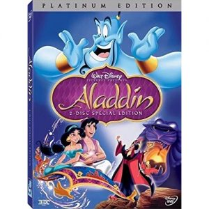 AU $26 BUY: Aladdin Kids Movie on DVD in Australia