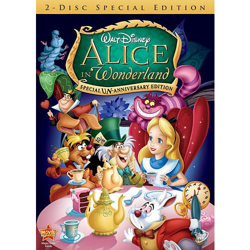 AU $24 BUY: Alice in Wonderland (Special Un-Anniversary Edition) Kids Movie on DVD in Australia