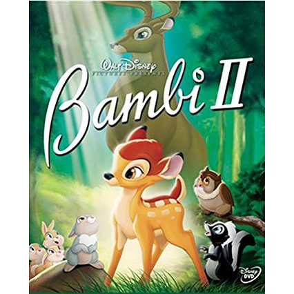AU $24 BUY: Bambi 2 Kids Movie on DVD in Australia