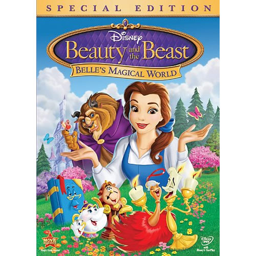 AU $20 BUY: Beauty and the Beast: Belle's Magical World (Special Edition)  Animated DVD in Australia