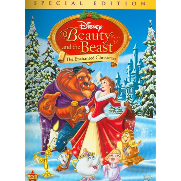 AU $20 BUY: Beauty and the Beast: The Enchanted Christmas Animated DVD in Australia