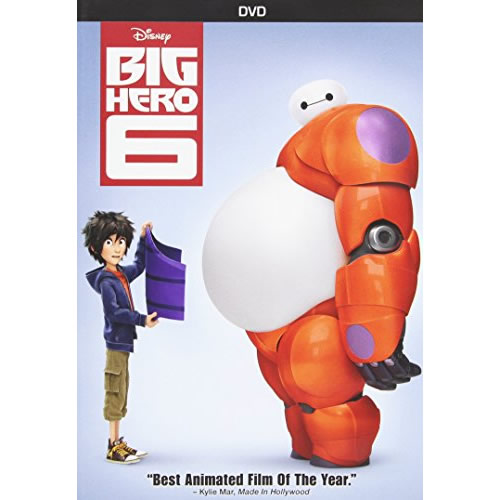 AU $24 BUY: Big Hero 6 Kids Movie on DVD in Australia