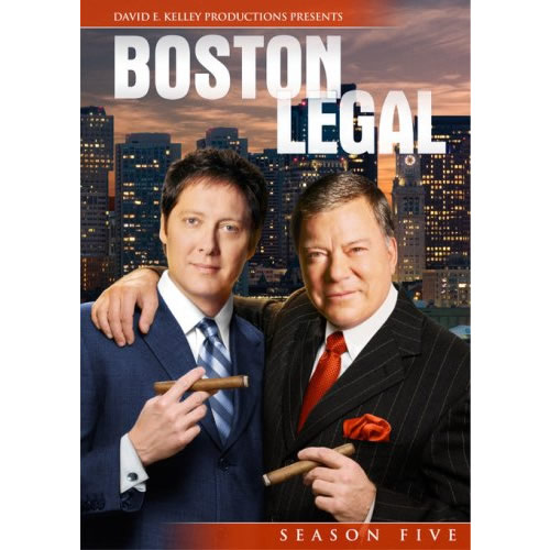 AU $35 BUY: Boston Legal - Season 5 on DVD in Australia