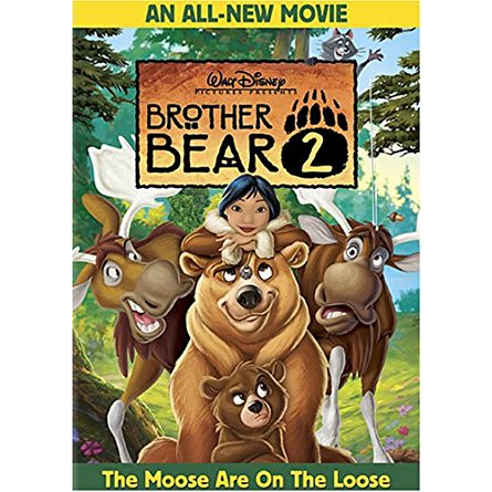 AU $24 BUY: Brother Bear 2 Kids Movie on DVD in Australia