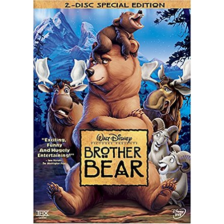 AU $24 BUY: Brother Bear (Special Edition) Kids Movie on DVD in Australia