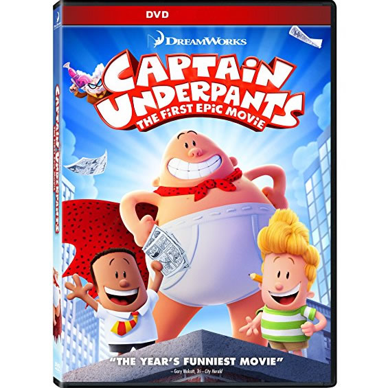 AU $22 BUY: Captain Underpants: The First Epic Movie Animated DVD in Australia