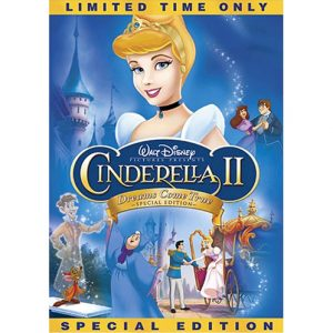 AU $25 BUY: Cinderella II: Dreams Come True Kids Movie on DVD in Australia