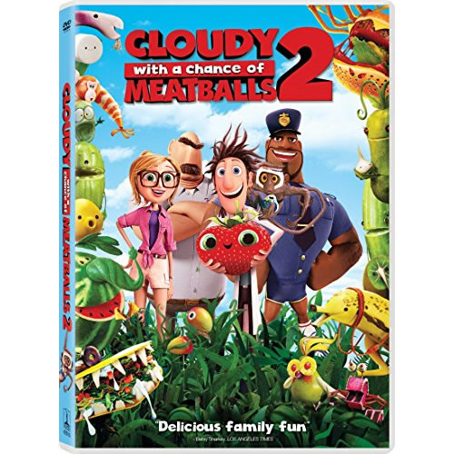 AU $20 BUY: Cloudy with a Chance of Meatballs 2 Anime DVD in Australia