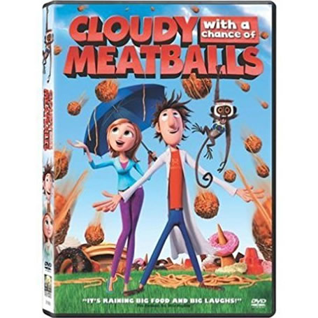 AU $21 BUY: Cloudy with a Chance of Meatballs Kids Movie on DVD in Australia