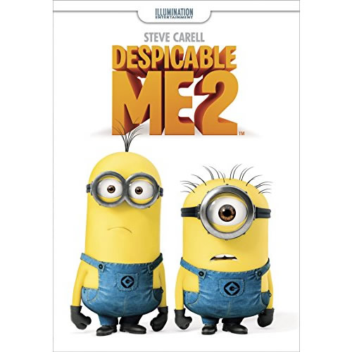 AU $22 BUY: Despicable Me 2 Kids Movie on DVD in Australia