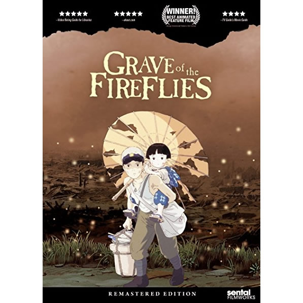 AU $20 BUY: Grave of the Fireflies Animated DVD in Australia