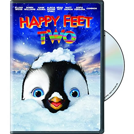AU $20 BUY: Happy Feet Two Kids Movie on DVD in Australia