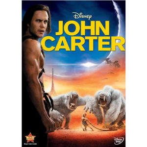 AU $22 BUY: John Carter Kids Movie on DVD in Australia