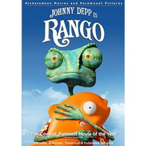 AU $22 BUY: Johnny Depp is Rango Kids Movie on DVD in Australia
