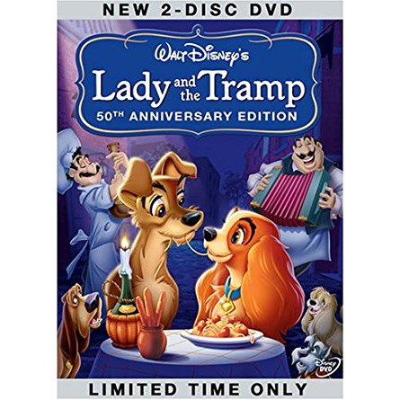 AU $22 BUY: Lady and the Tramp (50th Anniversary Platinum Edition) Anime DVD in Australia