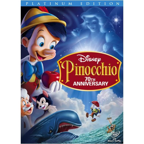AU $26 BUY: Pinocchio (70th Anniversary Platinum Edition) Kids Movie on DVD in Australia
