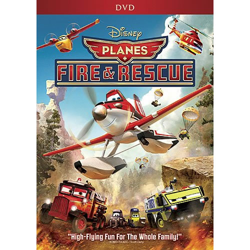 AU $20 BUY: Planes Fire and Rescue Anime DVD in Australia