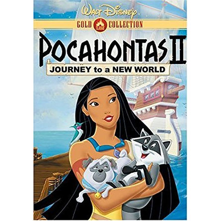 AU $24 BUY: Pocahontas 2: Journey to a New World Kids Movie on DVD in Australia