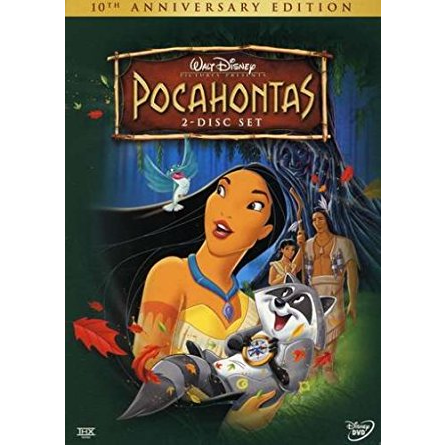 AU $26 BUY: Pocahontas Kids Movie on DVD in Australia
