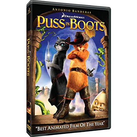 AU $20 BUY: Puss in Boots Anime DVD in Australia