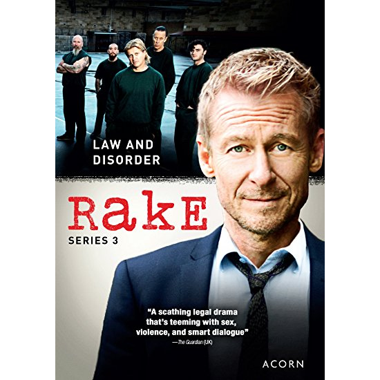 AU $30 BUY: Rake - Season 3 on DVD in Australia