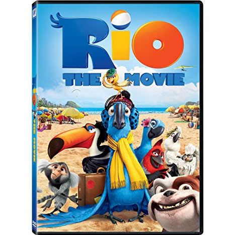 AU $20 BUY: Rio (The Movie) Anime DVD in Australia