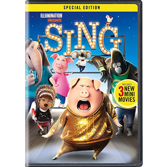 AU $20 BUY: Sing on DVD in Australia