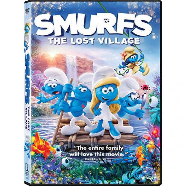 AU $20 BUY: Smurfs: The Lost Village Kids Movie on DVD in Australia