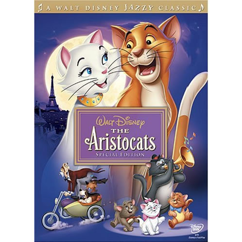 AU $22 BUY: The Aristocats (Special Edition) Kids Movie on DVD in Australia