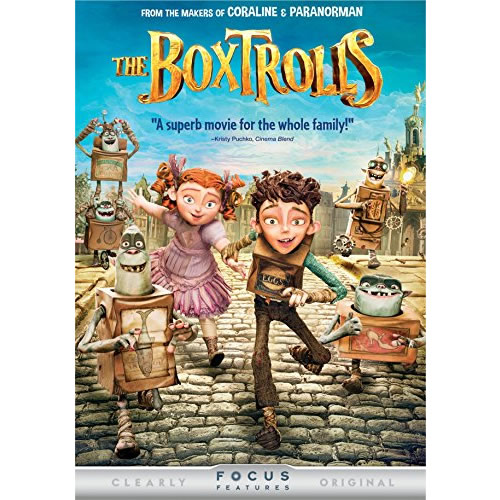 AU $20 BUY: The Boxtrolls Kids Movie on DVD in Australia