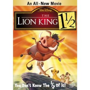 AU $25 BUY: The Lion King 1 1/2 Kids Movie on DVD in Australia