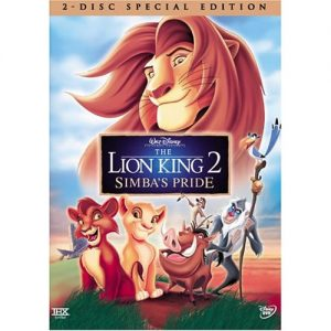 AU $25 BUY: The Lion King 2 Kids Movie on DVD in Australia