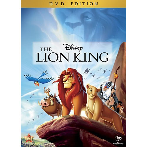 AU $25 BUY: The Lion King Kids Movie on DVD in Australia