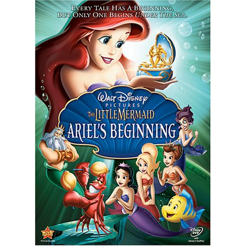 AU $20 BUY: The Little Mermaid: Ariel's Beginning Anime DVD in Australia
