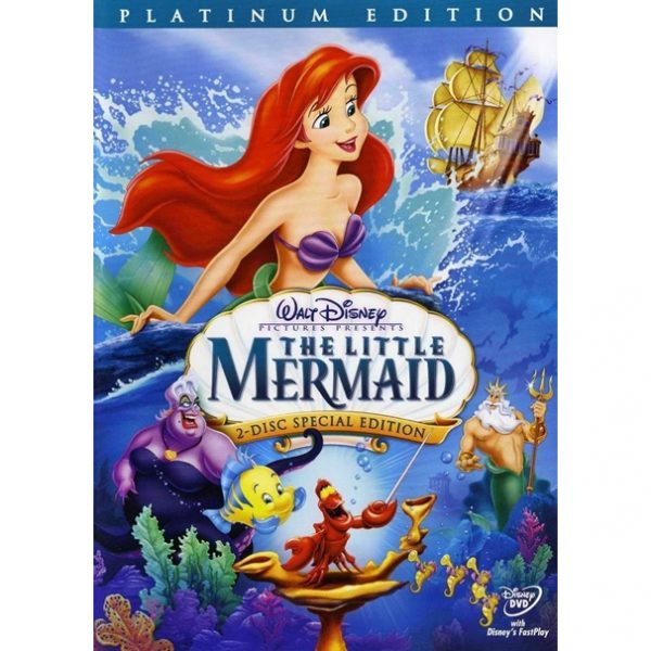 AU $26 BUY: The Little Mermaid (Special Edition) Kids Movie on DVD in Australia