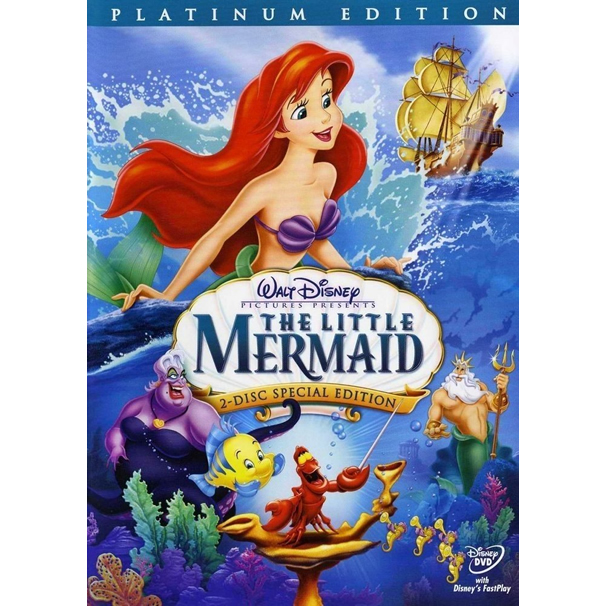 AU $22 BUY: The Little Mermaid (Special Edition) Anime DVD in Australia