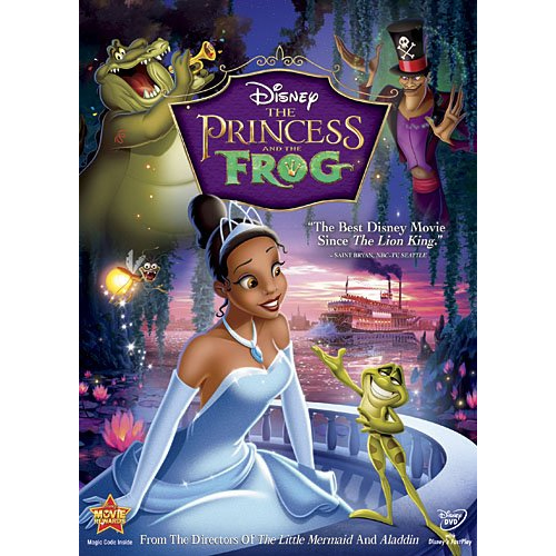 AU $26 BUY: The Princess and the Frog Kids Movie on DVD in Australia